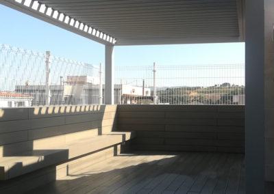 dpergola pergola bioclimatica barcelona